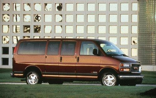 1999 gmc savana passenger van g1500 sle fq oem 1 500