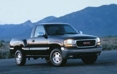 1999 gmc sierra 1500 regular cab pickup sle fq oem 1 500