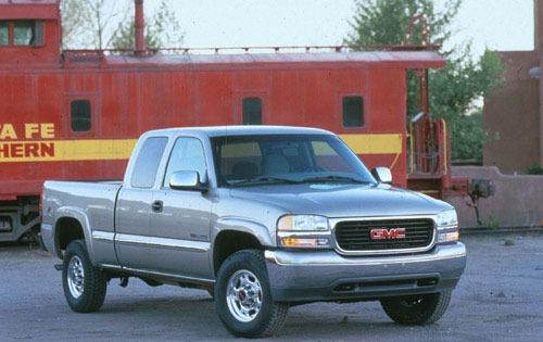 1999 gmc sierra classic 2500 extended cab pickup hd sle fq oem 1 500