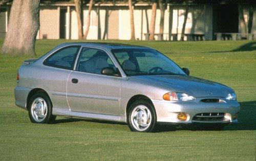 1999 hyundai accent 2dr hatchback gs fq oem 1 500