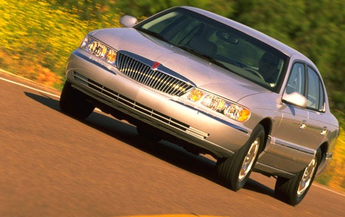 1999 lincoln continental sedan base fq oem 1 500