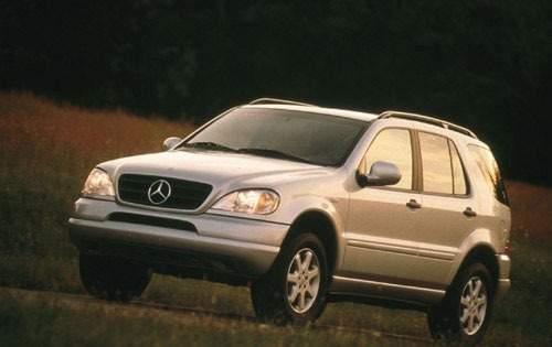 1999 mercedes benz m class 4dr suv ml430 fq oem 1 500