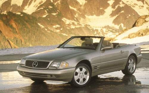 1999 mercedes benz sl class convertible sl500 fq oem 1 500