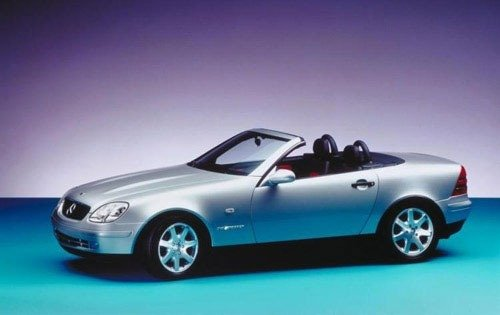 1999 mercedes benz slk class convertible slk230 sport fq oem 1 500