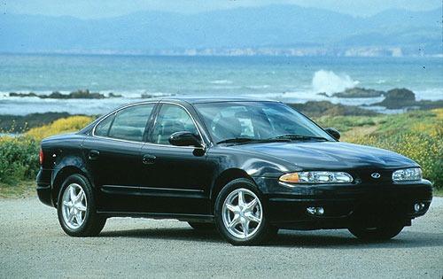 1999 oldsmobile alero sedan gls fq oem 1 500