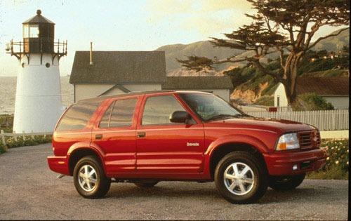 1999 oldsmobile bravada 4dr suv base fq oem 1 500