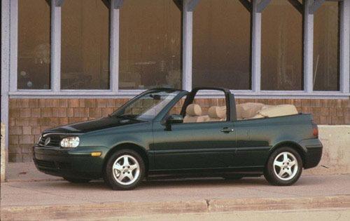 1999 volkswagen cabrio convertible gls 19995 fq oem 1 500