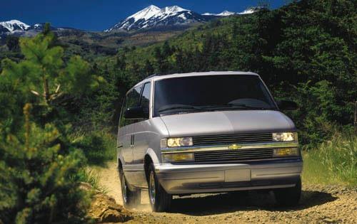 2000 chevrolet astro passenger minivan lt fq oem 1 500