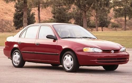 2000 chevrolet prizm sedan base fq oem 1 500