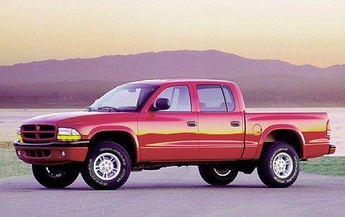2000 dodge dakota crew cab pickup slt fq oem 1 500