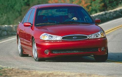 2000 ford contour svt sedan base fq oem 1 500