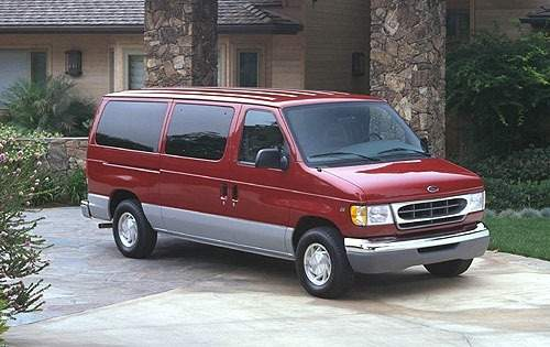 2000 ford econoline wagon passenger van e 150 xl fq oem 1 500