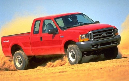 2000 ford f 250 super duty extended cab pickup xl fq oem 1 500