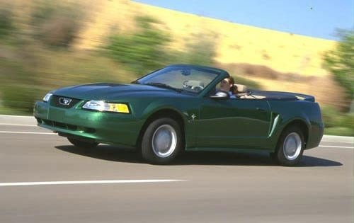 2000 ford mustang convertible gt fq oem 3 500