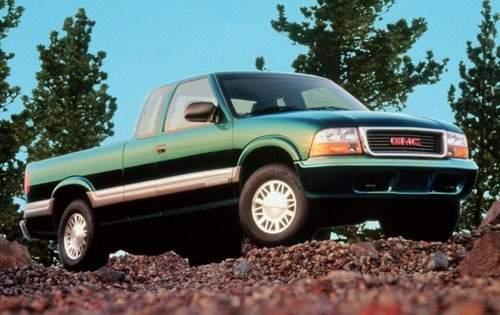 2000 gmc sonoma extended cab pickup sl fq oem 1 500