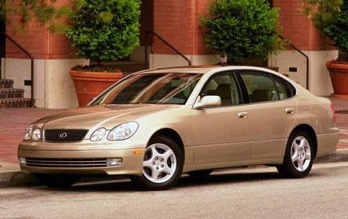2000 lexus gs 300 sedan base fq oem 1 500