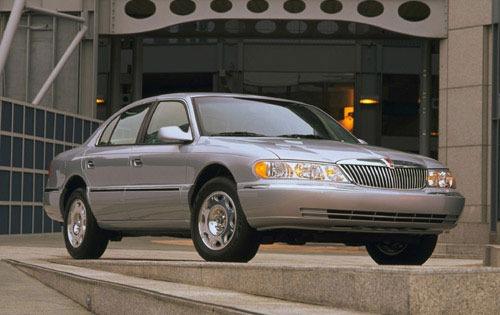 Lincoln Continental Sedan Base Fq Oem