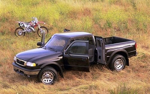 2000 mazda b series pickup extended cab pickup b4000 tl fq oem 1 500