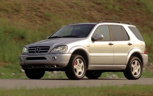 2000 mercedes benz ml55 amg 4dr suv base fq oem 1 500