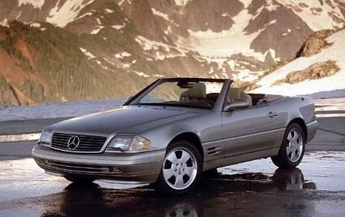2000 mercedes benz sl class convertible sl500 fq oem 1 500