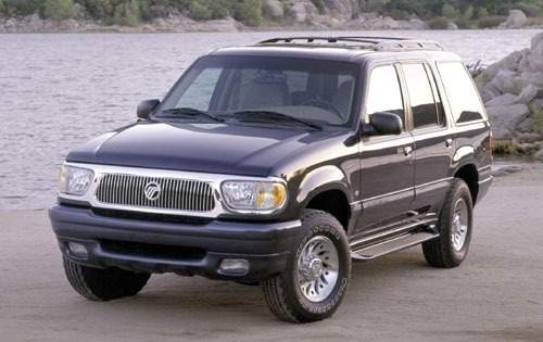 2000 mercury mountaineer 4dr suv base fq oem 1 500