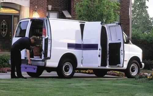 2001 chevrolet express cargo cargo van 1500 rq oem 1 500