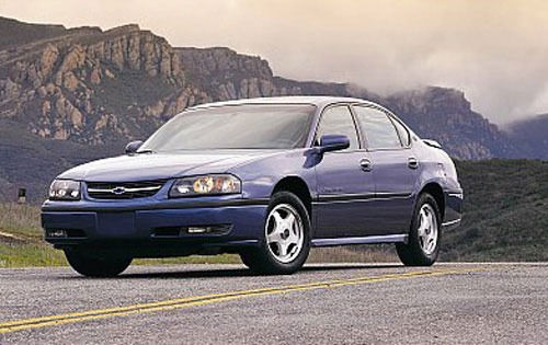 2001 chevrolet impala sedan ls fq oem 1 500