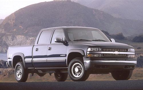 2001 chevrolet silverado 1500hd crew cab pickup ls fq oem 1 500