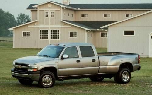 2001 chevrolet silverado 3500 crew cab pickup lt fq oem 1 500