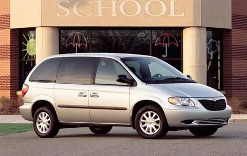 2001 chrysler voyager passenger minivan lx fq oem 1 500