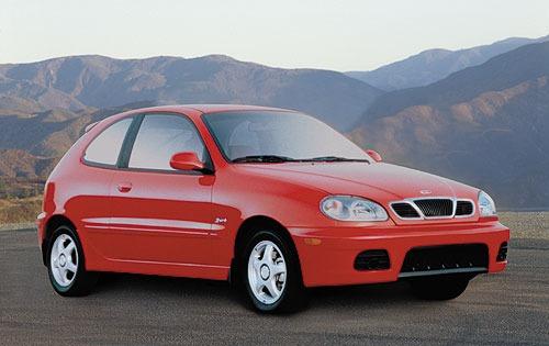 2001 daewoo lanos 2dr hatchback sport fq oem 1 500