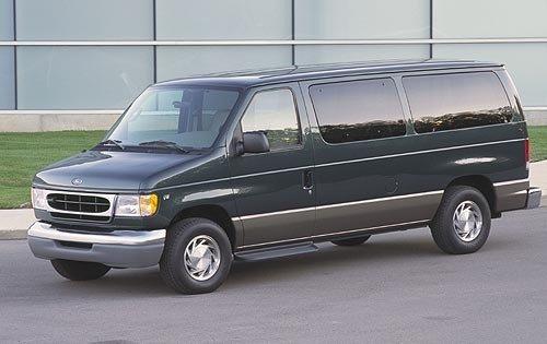 2001 ford econoline wagon passenger van e 150 xlt fq oem 1 500