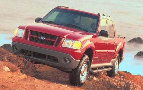 2001 ford explorer sport trac crew cab pickup base fq oem 1 500