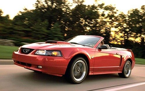 2001 ford mustang convertible gt deluxe fq oem 1 500