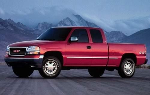 2001 gmc sierra 1500 extended cab pickup slt fq oem 1 500