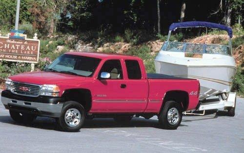 2001 gmc sierra 2500hd extended cab pickup slt fq oem 1 500