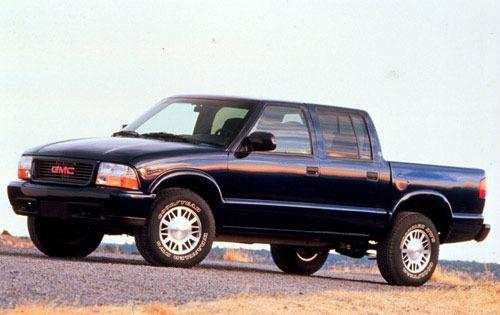2001 gmc sonoma crew cab pickup sls fq oem 1 500