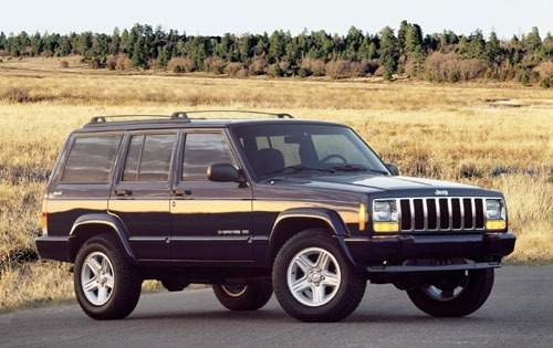 2001 jeep cherokee 4dr suv limited fq oem 1 500