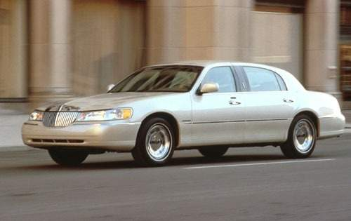 2001 lincoln town car sedan cartier fq oem 1 500