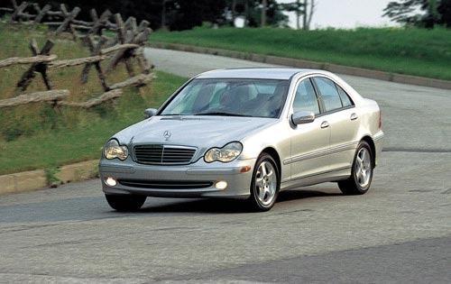 2001 mercedes benz c class sedan c320 fq oem 1 500