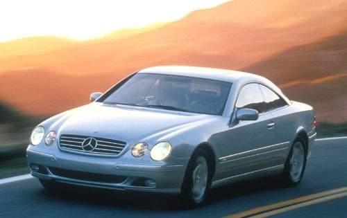 2001 mercedes benz cl class coupe cl500 fq oem 1 500