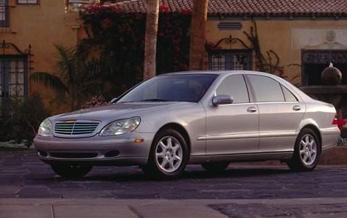 2001 mercedes benz s class sedan s430 fq oem 1 500