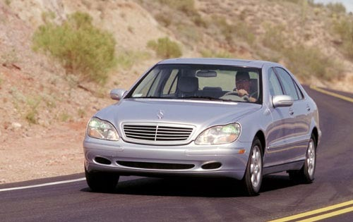 2001 mercedes benz s class sedan s600 fq oem 1 500