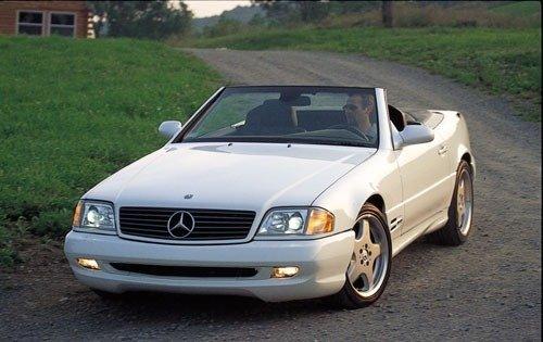 2001 mercedes benz sl class convertible sl500 fq oem 1 500