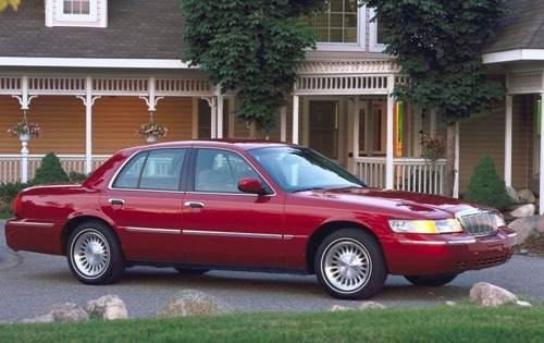 2001 mercury grand marquis sedan ls fq oem 1 500