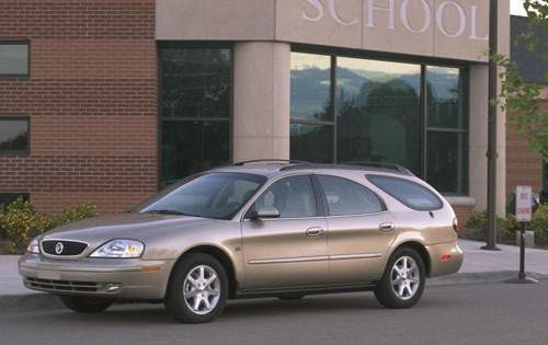 2001 mercury sable wagon gs fq oem 1 500