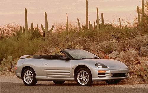 2001 mitsubishi eclipse spyder convertible gt fq oem 1 500