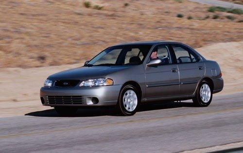 2001 nissan sentra sedan gxe fq oem 1 500