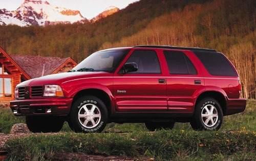 2001 oldsmobile bravada 4dr suv base fq oem 1 500