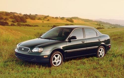 2001 suzuki esteem sedan gl fq oem 1 500
